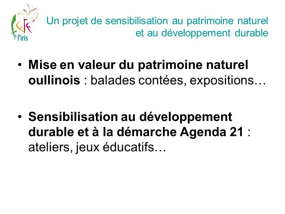 Un projet de sensibilisation au patrimoine naturel et au développement durable