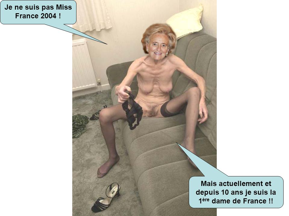 Je ne suis pas Miss France 2004 !