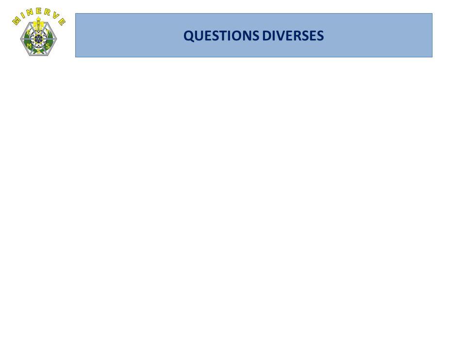 QUESTIONS DIVERSES CA du 14 janvier 2010