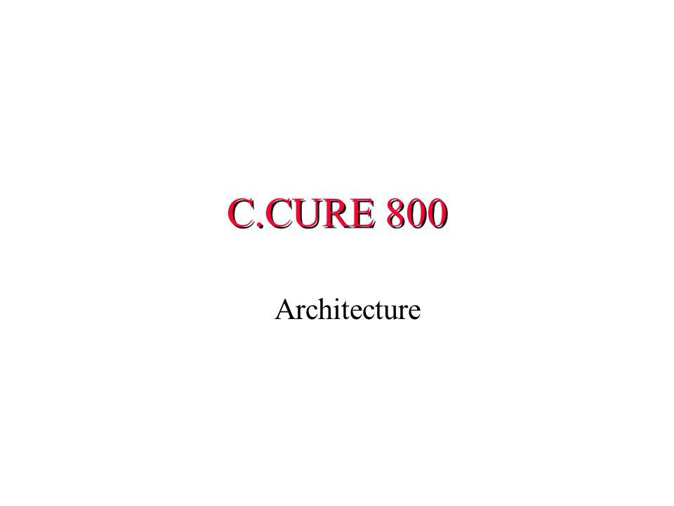 C.CURE 800 Architecture