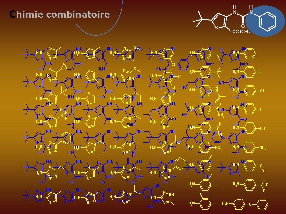 H H Chimie combinatoire N N S O COOCH3