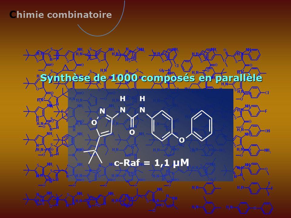 Synthèse de 1000 composés en parallèle