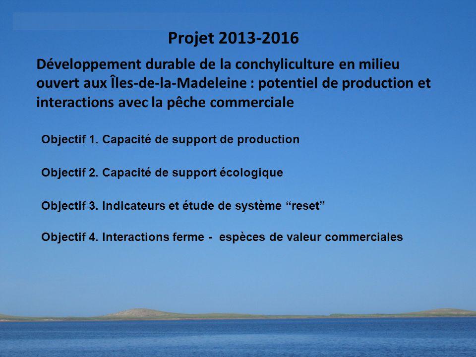 Projet 2013-2016