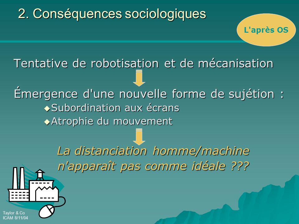 2. Conséquences sociologiques