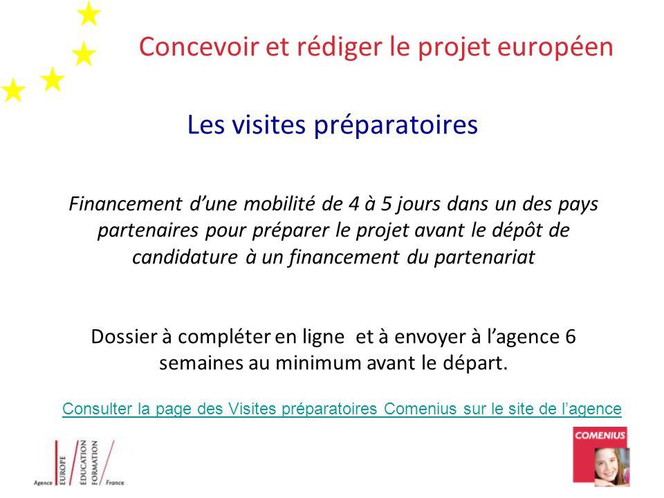 Concevoir et rédiger le projet européen
