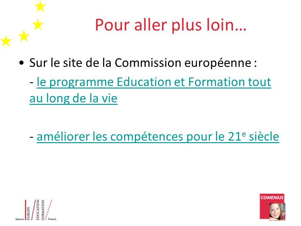 Pour aller plus loin… Sur le site de la Commission européenne :