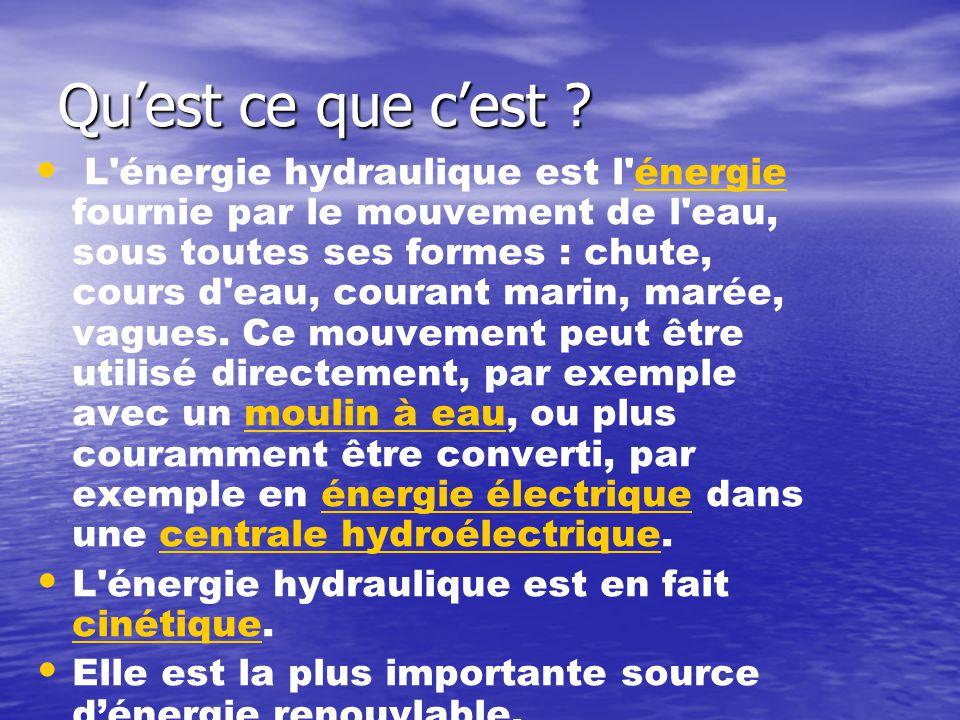 Source energie renouvelable for Qu est ce qu une energie renouvelable