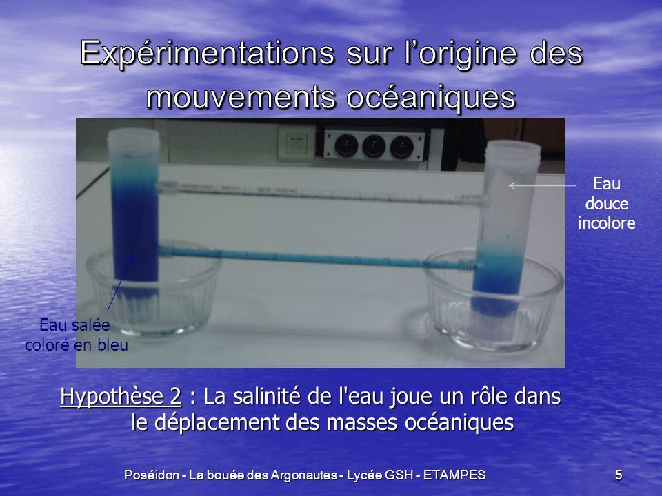 Expérimentations sur l'origine des mouvements océaniques