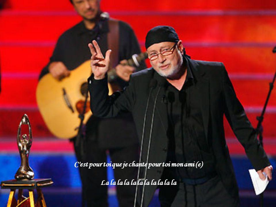 C est pour toi que je chante pour toi mon ami (e)
