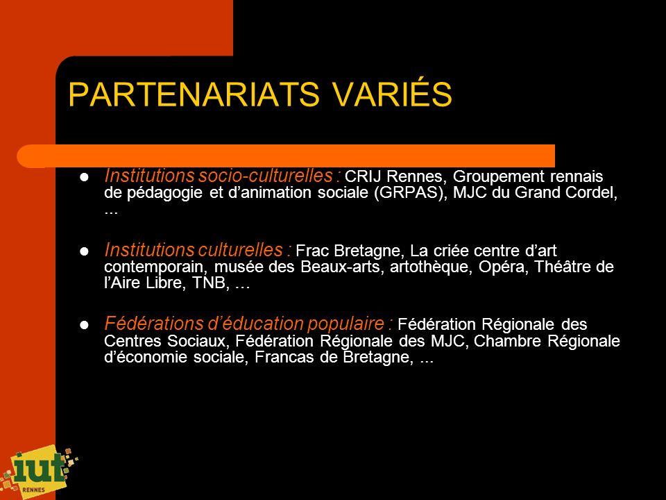 PARTENARIATS VARIÉS