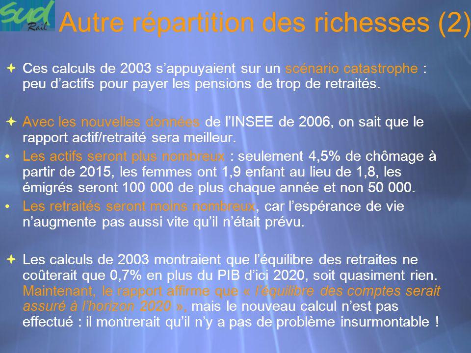 Autre répartition des richesses (2)
