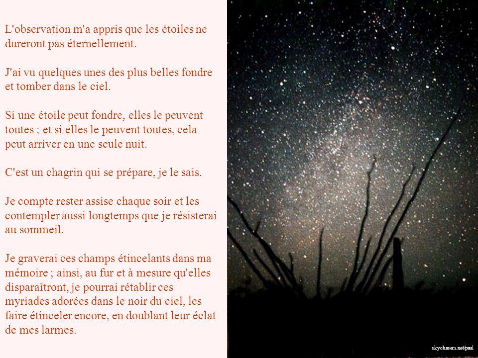 L observation m a appris que les étoiles ne dureront pas éternellement