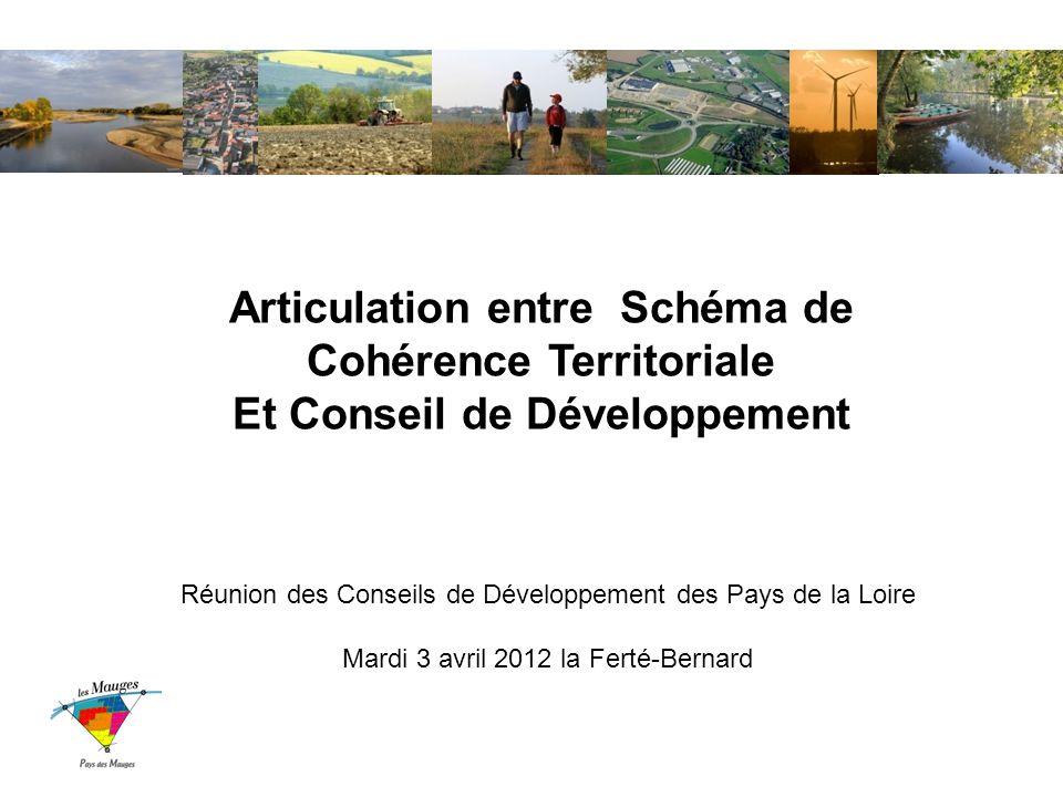 Articulation entre Schéma de Cohérence Territoriale