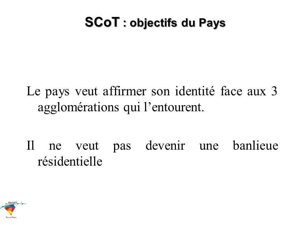 SCoT : objectifs du Pays