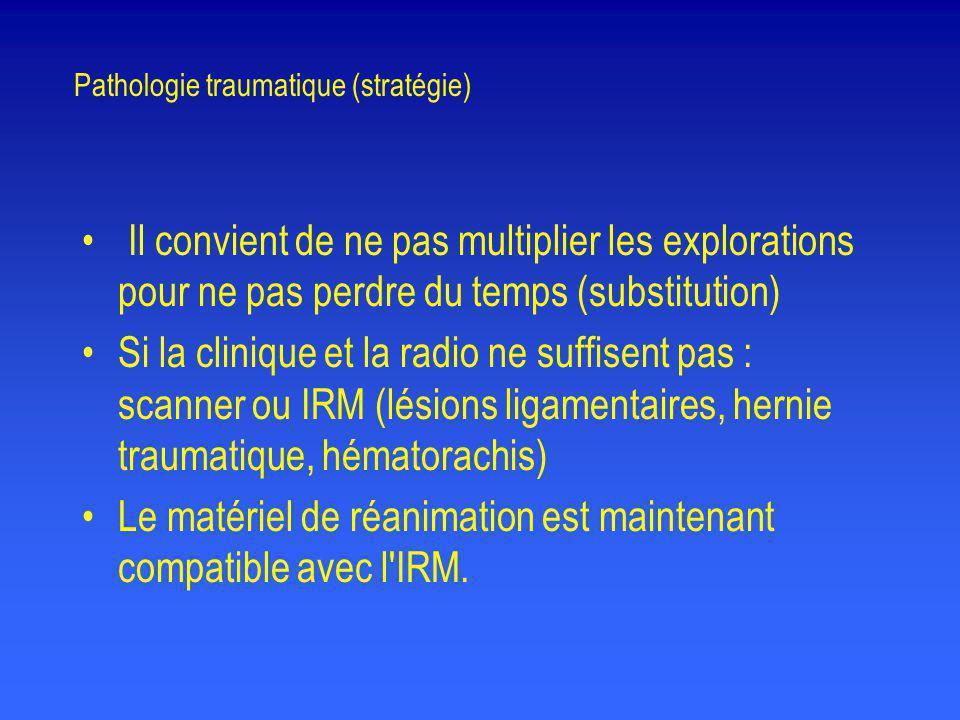 Pathologie traumatique (stratégie)