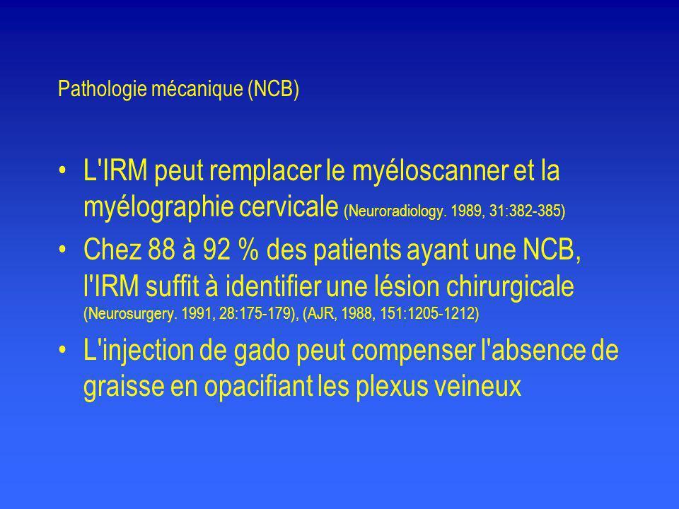 Pathologie mécanique (NCB)