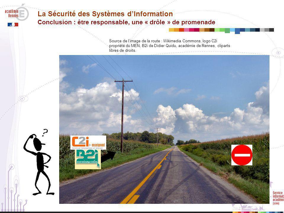 La Sécurité des Systèmes d'Information Conclusion : être responsable, une « drôle » de promenade
