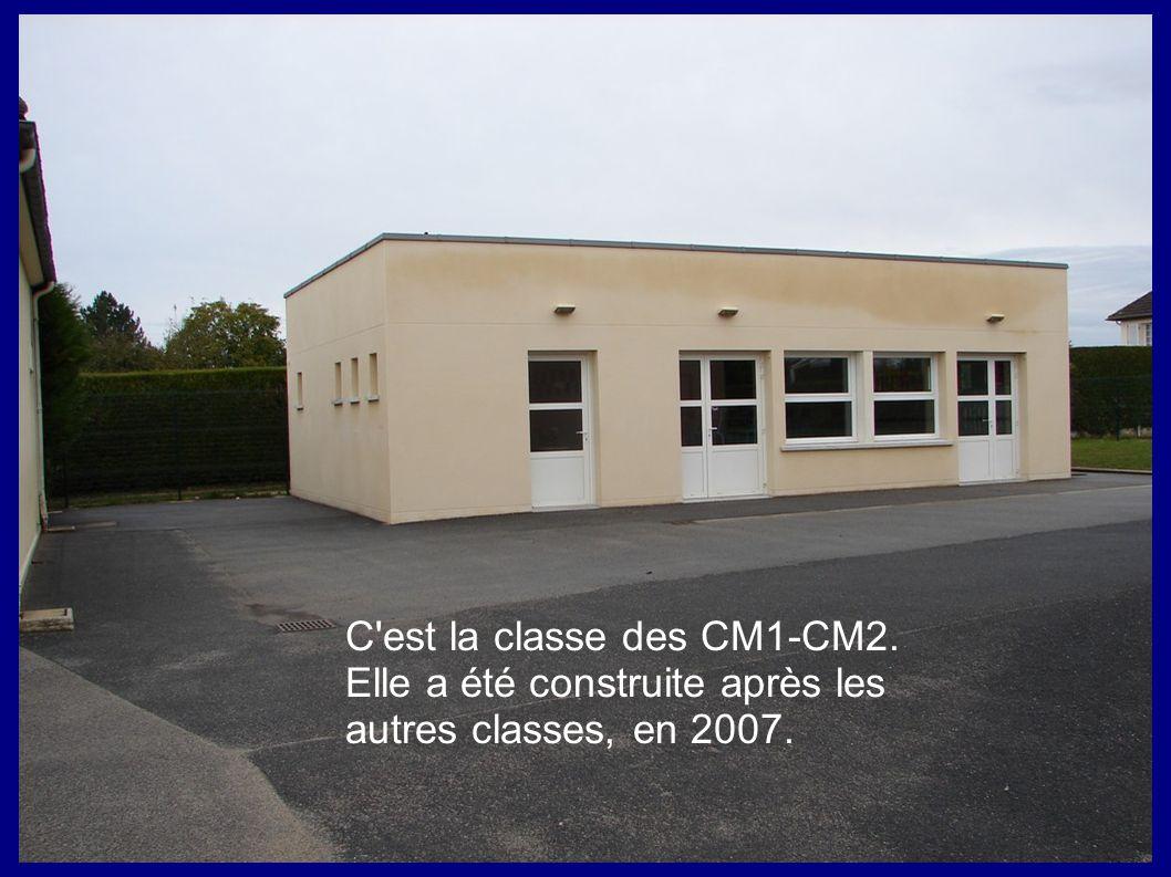 C est la classe des CM1-CM2