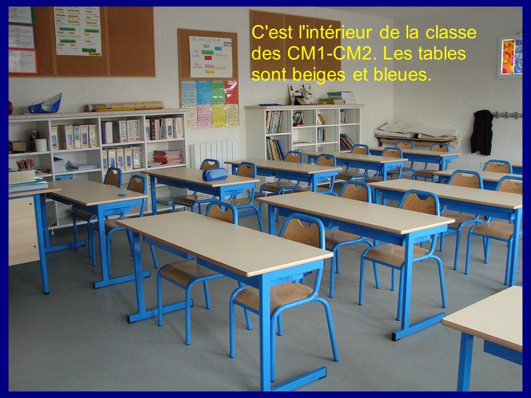 C est l intérieur de la classe des CM1-CM2