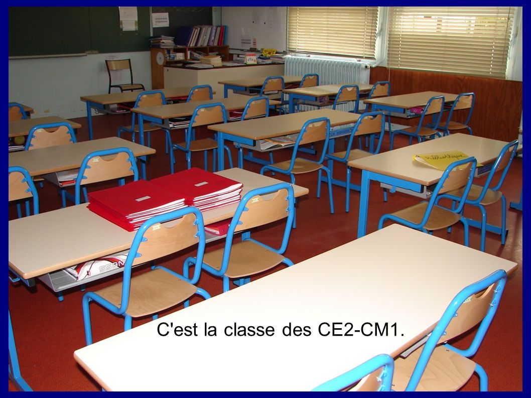 C est la classe des CE2-CM1.