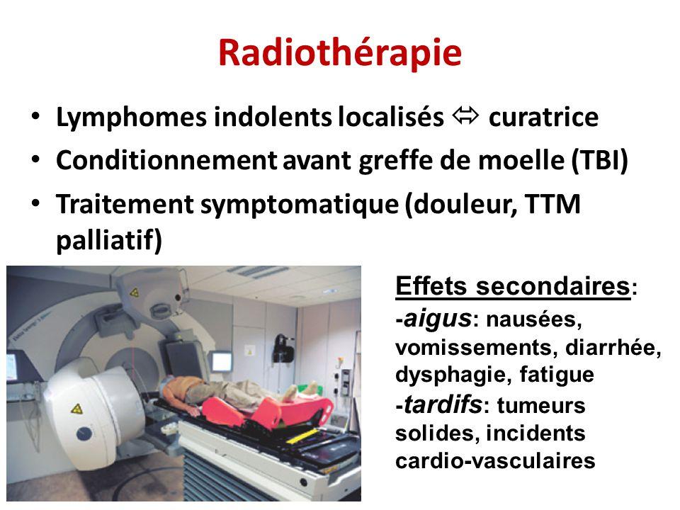 Radiothérapie Lymphomes indolents localisés  curatrice