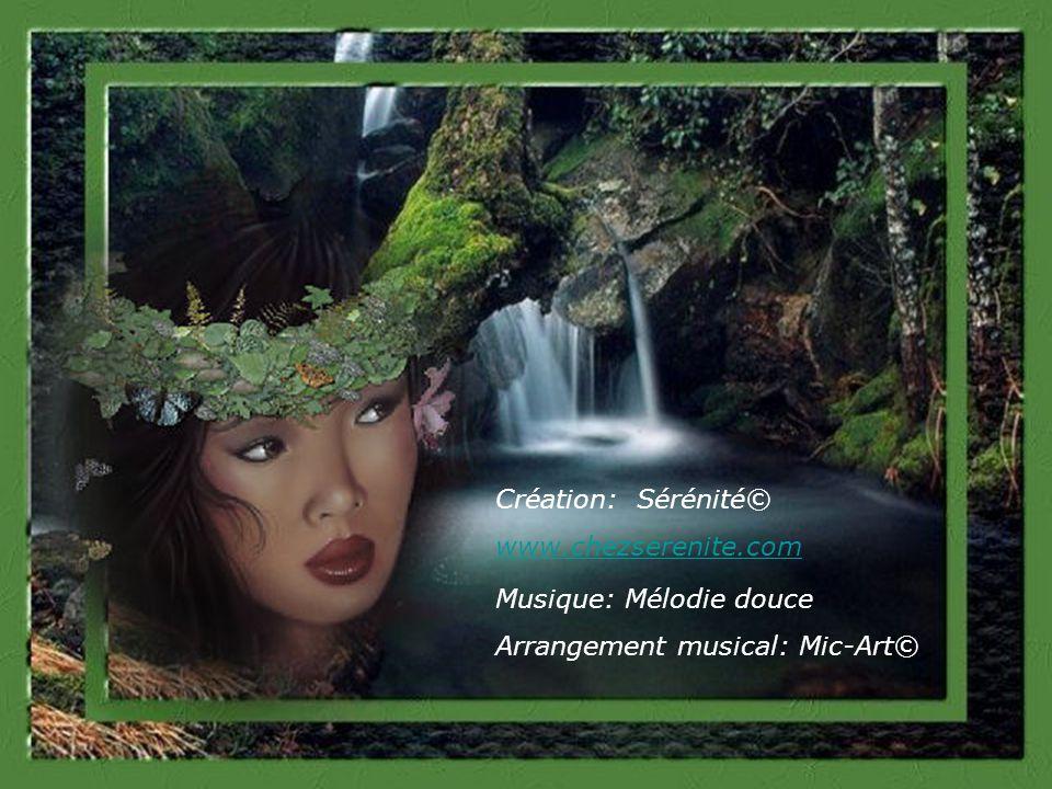 Création: Sérénité© www.chezserenite.com Musique: Mélodie douce Arrangement musical: Mic-Art©