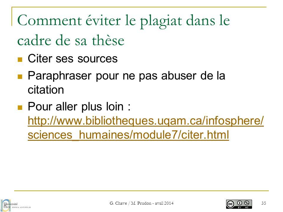 Comment éviter le plagiat dans le cadre de sa thèse