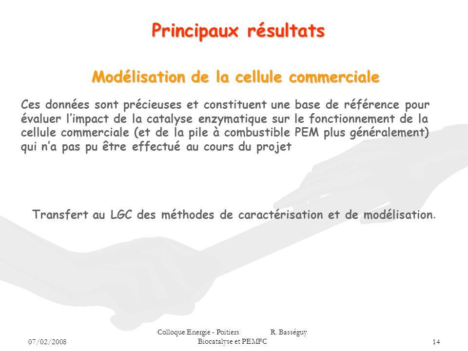Modélisation de la cellule commerciale