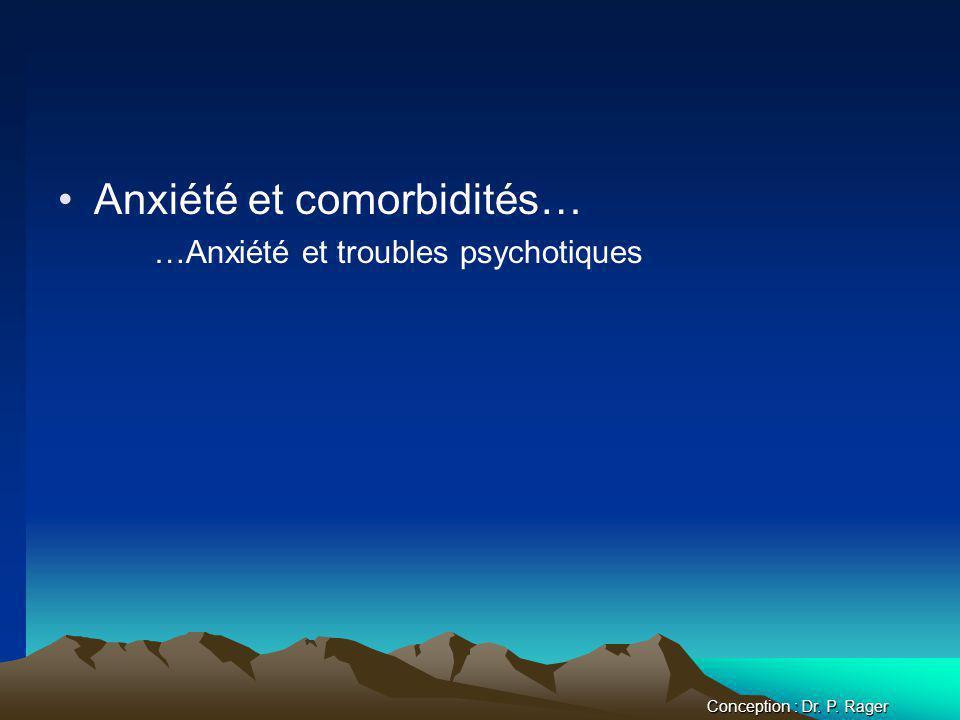 Anxiété et comorbidités…