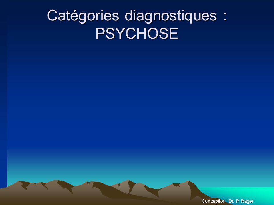 Catégories diagnostiques : PSYCHOSE