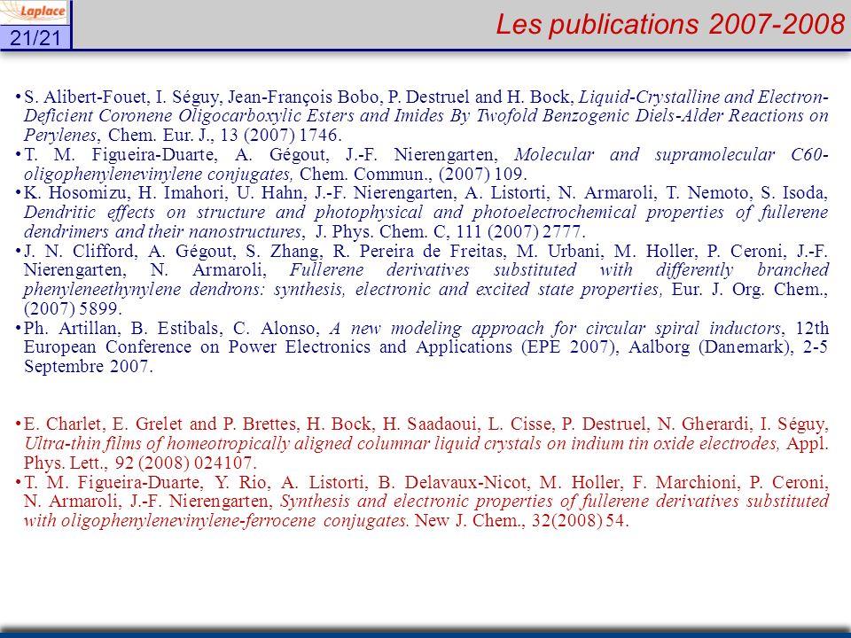 Les publications 2007-2008