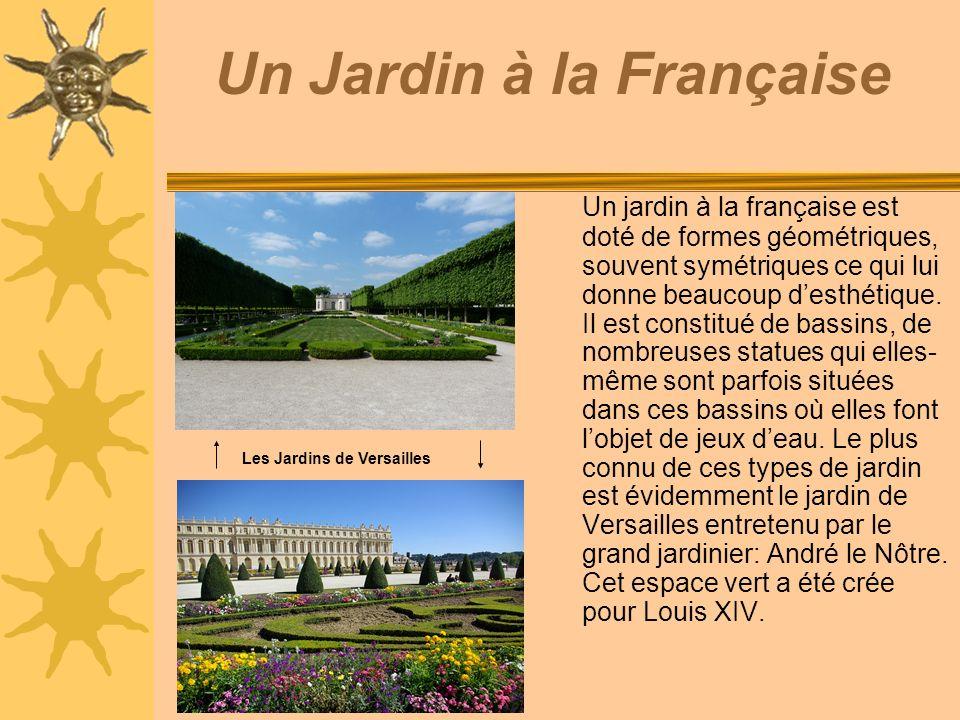 Promenade dans les jardins de versailles ppt t l charger - Jardin a la francaise caracteristique ...