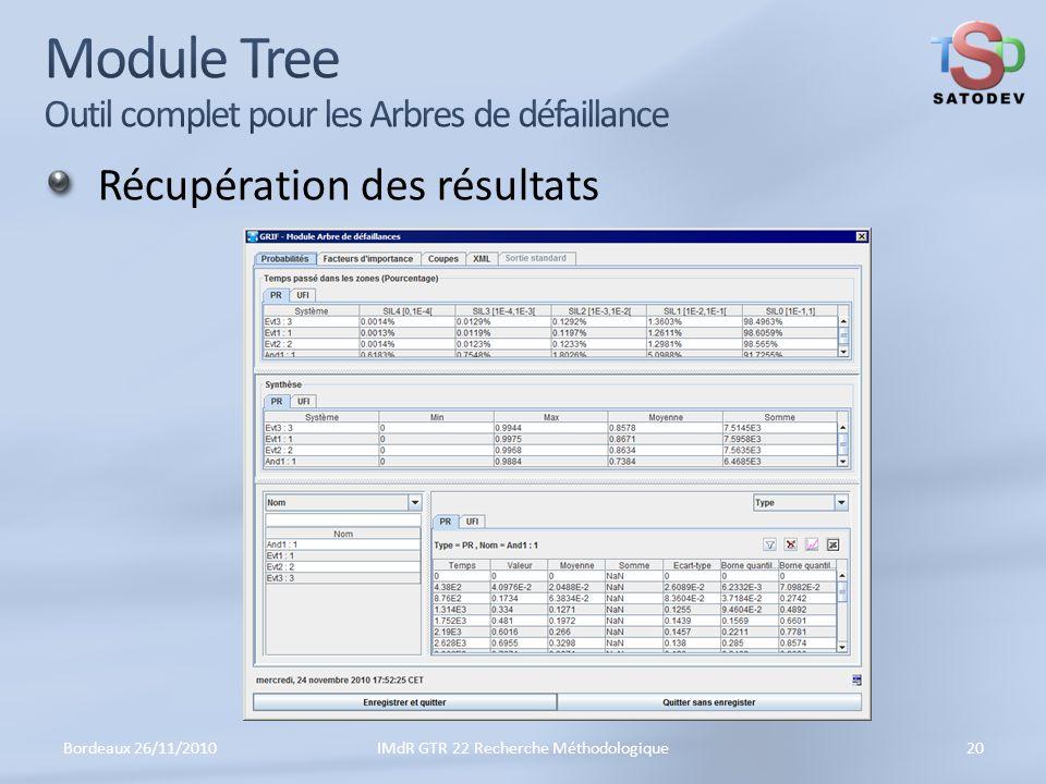 Module Tree Outil complet pour les Arbres de défaillance