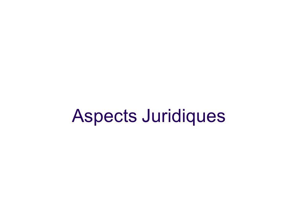 25/01/10 25/01/10 Aspects Juridiques 18