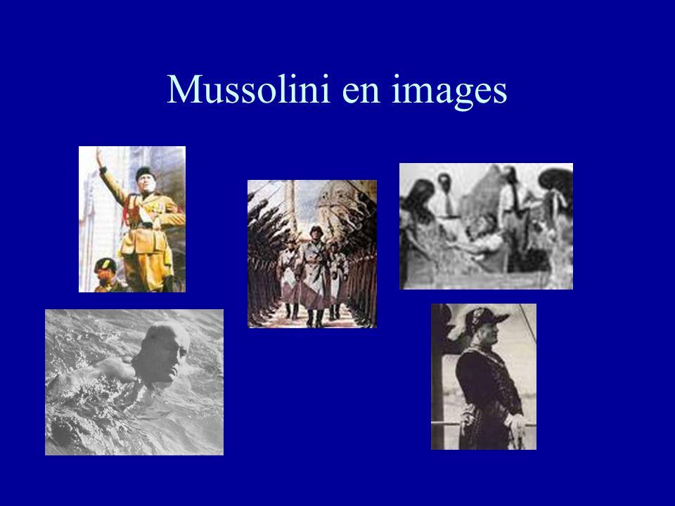 Mussolini en images