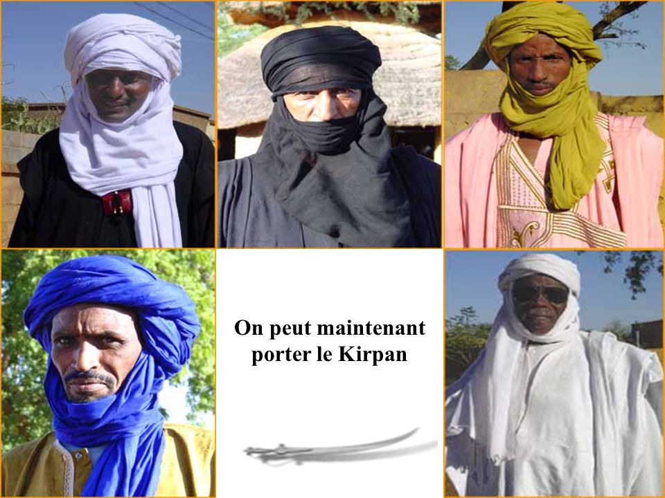 On peut maintenant porter le Kirpan