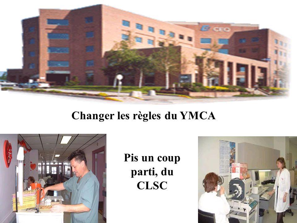 Changer les règles du YMCA