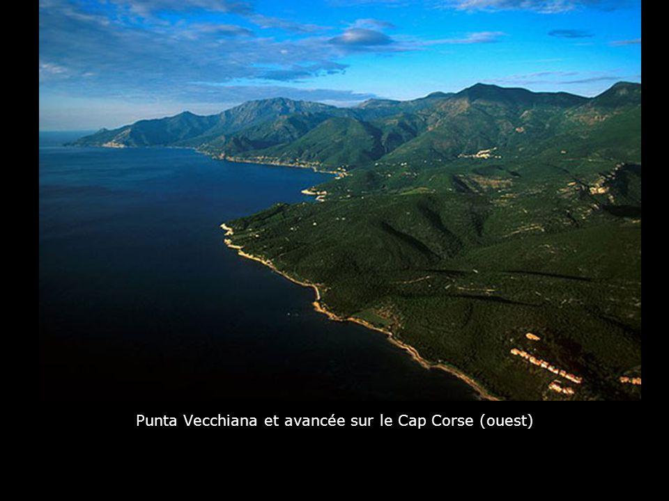 Punta Vecchiana et avancée sur le Cap Corse (ouest)