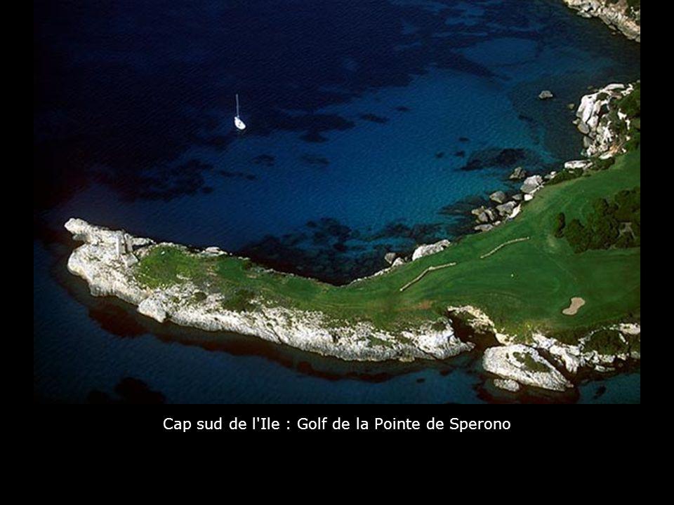 Cap sud de l Ile : Golf de la Pointe de Sperono