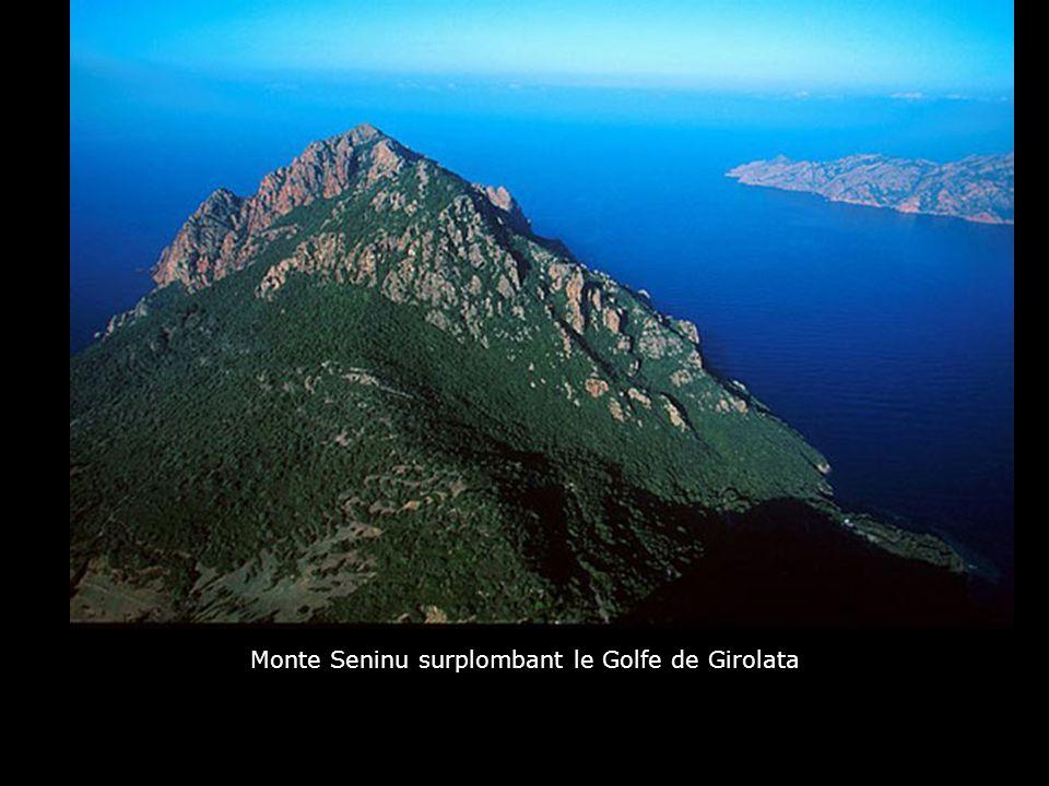 Monte Seninu surplombant le Golfe de Girolata