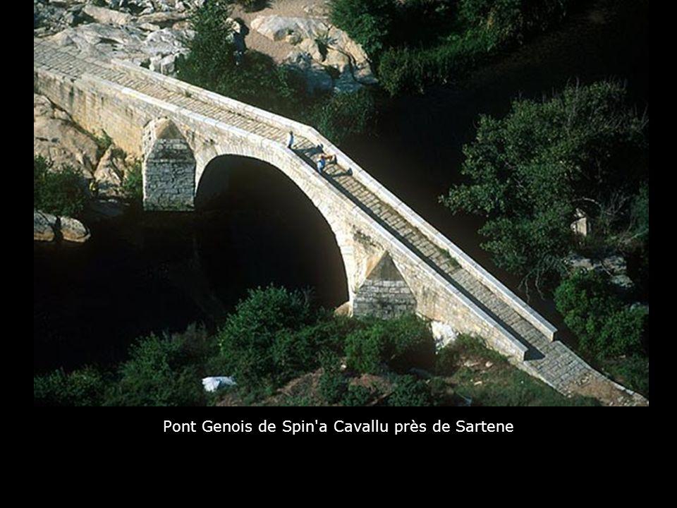 Pont Genois de Spin a Cavallu près de Sartene