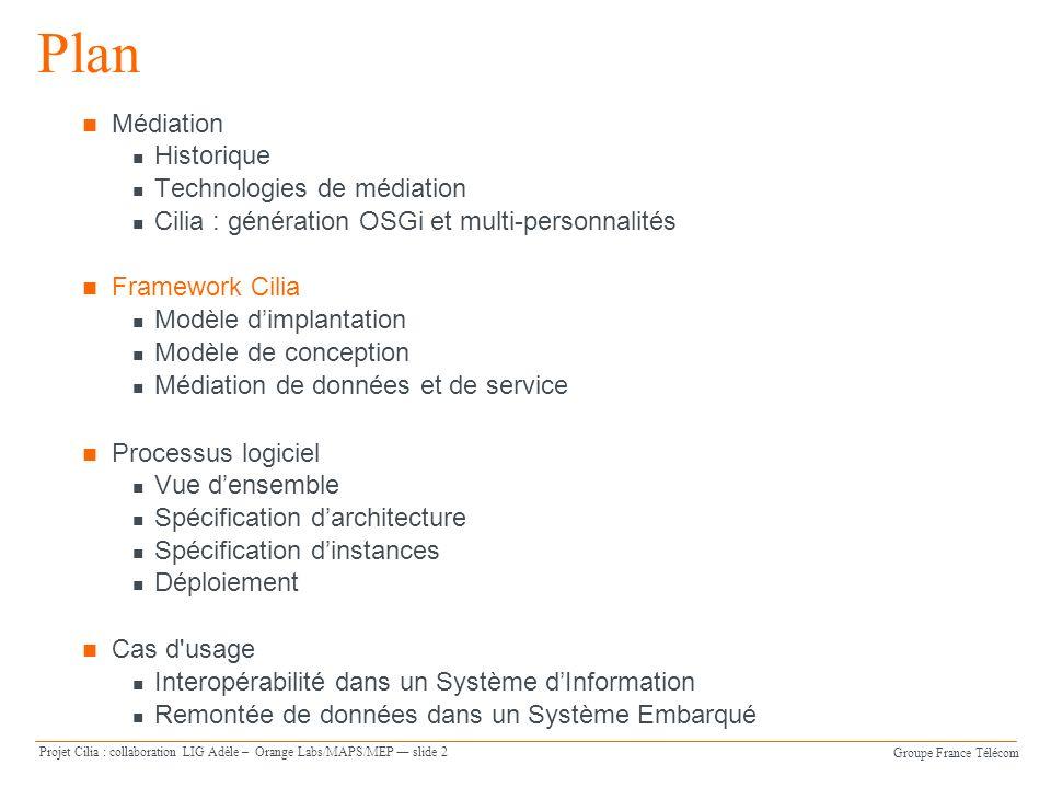 Plan Médiation Historique Technologies de médiation