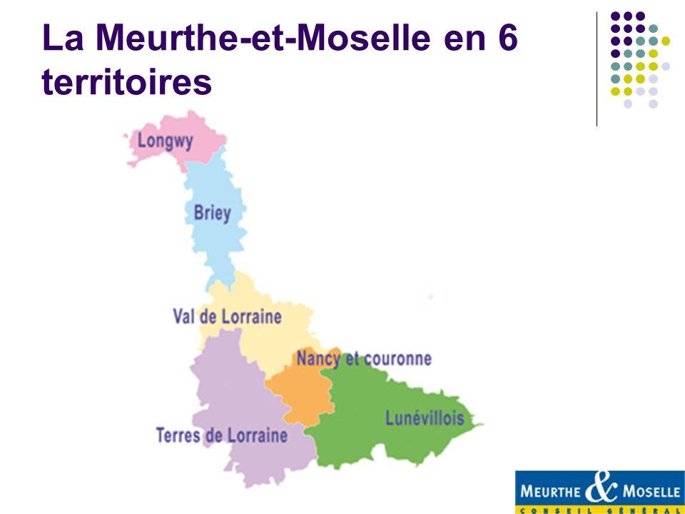 La Meurthe-et-Moselle en 6 territoires