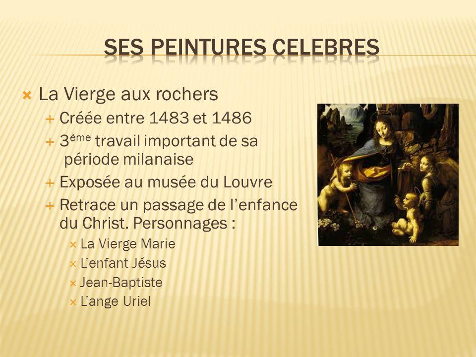 Ses peintures celebres