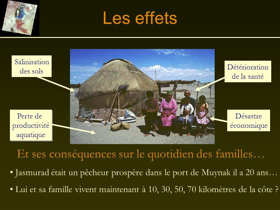 Les effets Et ses conséquences sur le quotidien des familles…