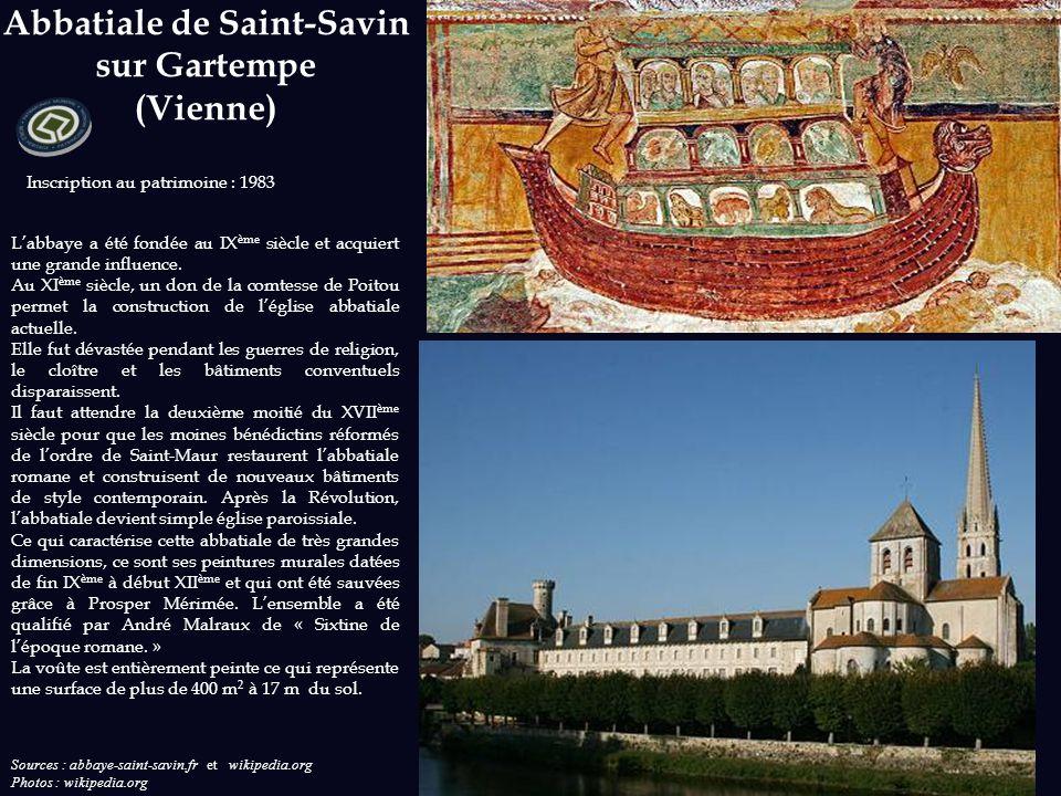 Abbatiale de Saint-Savin sur Gartempe (Vienne)