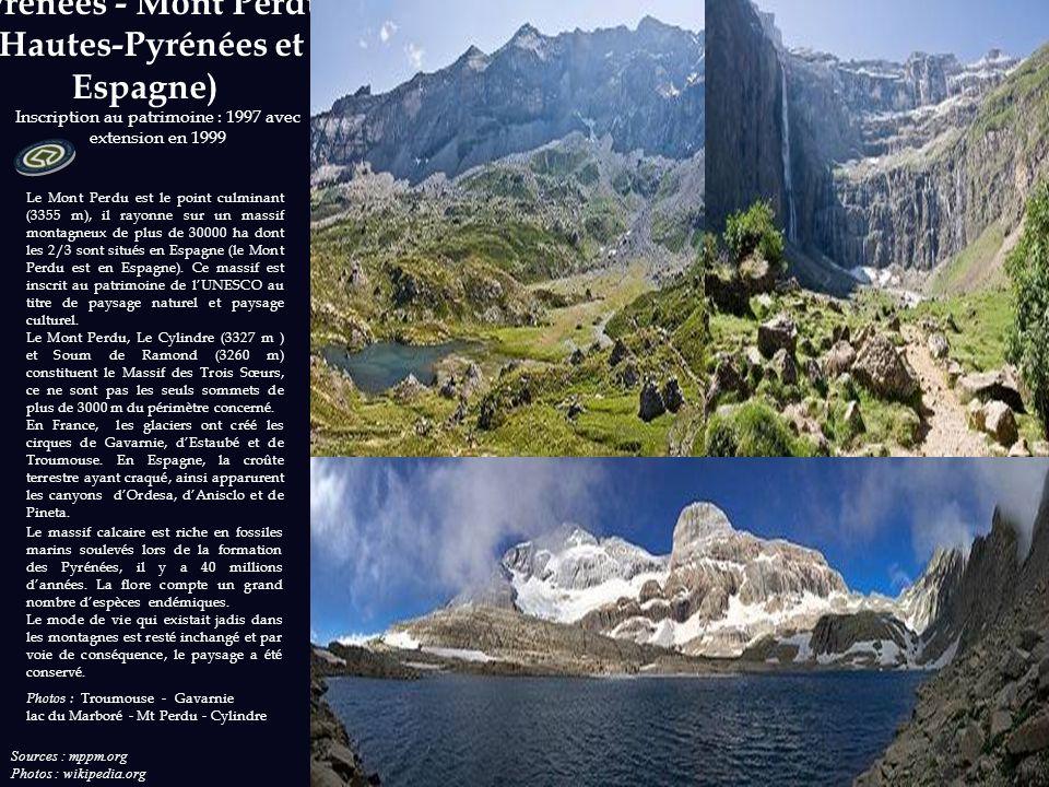 Pyrénées - Mont Perdu (Hautes-Pyrénées et Espagne)