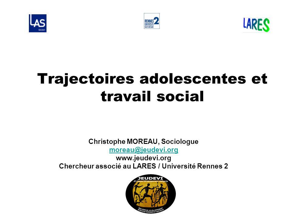 Trajectoires adolescentes et travail social