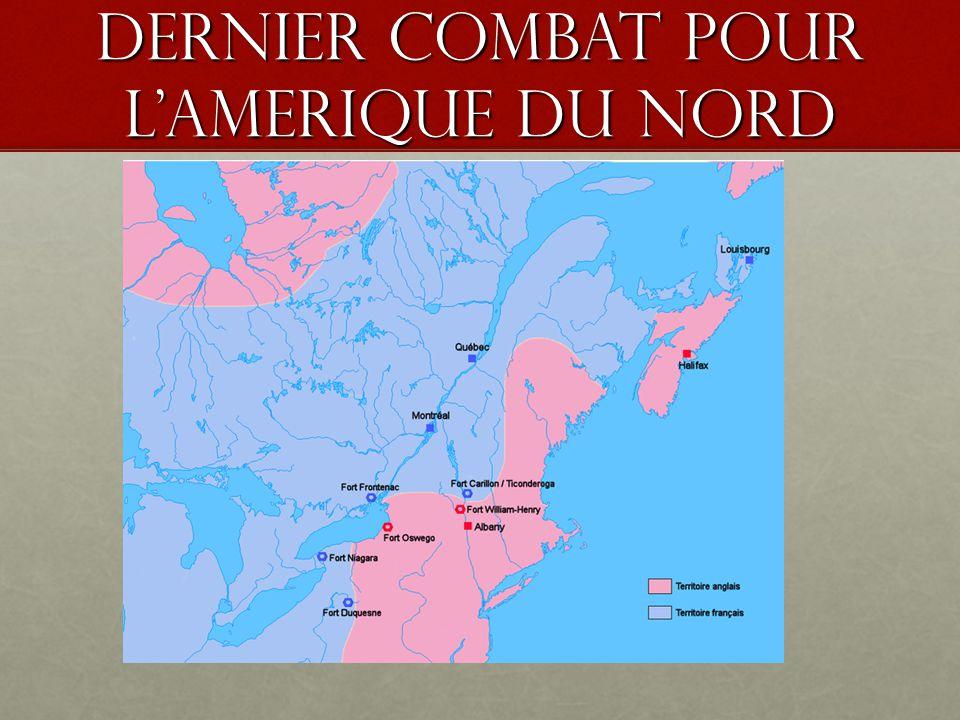 Dernier combat pour l'amerique du nord