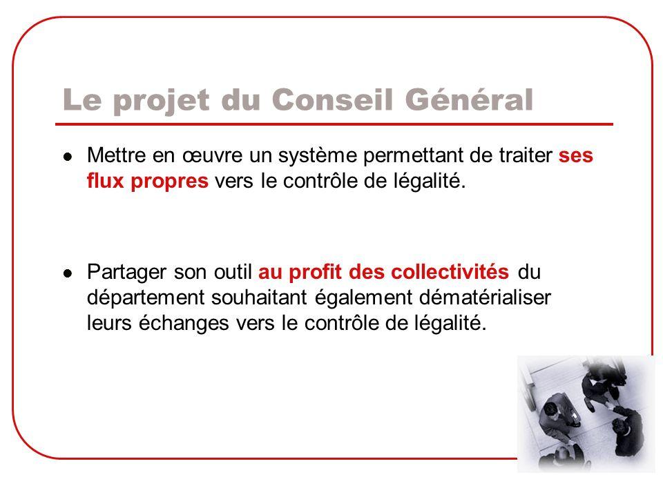 Le projet du Conseil Général